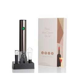 Coffret avec socle de recharge - cadeau idéal pour tous les amateurs de vins et d'oenologie